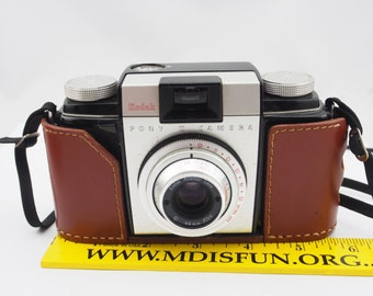 Vintage Kodak Pony II Camera, Film Camera