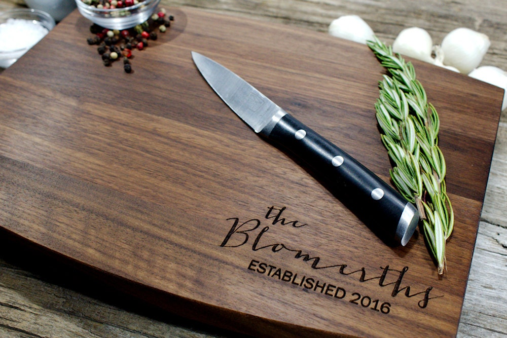 Personalized Cutting Boards ~ Personalized cutting board engraved