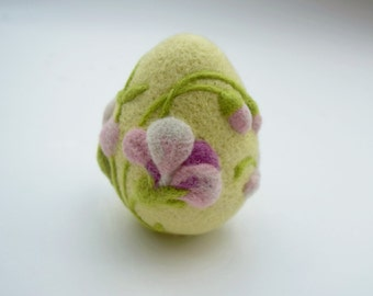 Easter Egg Felted Home Decoration Easter Gifts Needle Felted Eggs Wool Ornaments