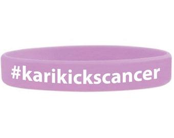 Kari Kicks Cancer Swag Bracelet