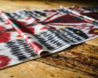 Handloomed Ikat Fabric UZ 16