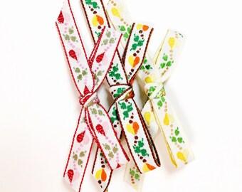 ribbon bow trio