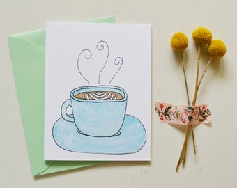 Latte Art Card