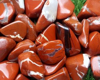 Red Jasper crystal tumblestone, Red Jasper Crystal, Red Jasper Stone