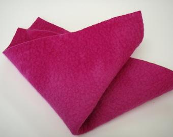 Wool felt square sheets in Australian merino wool Crimson 11484