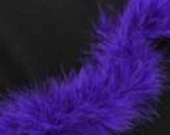 """Marabou Boa - Purple - 18"""""""