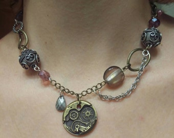 Steampunk Staetment Necklace