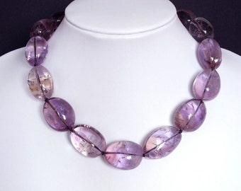 Necklace Ametrine 28mm Nuggets 925 1 NSAT6027