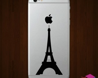 Paris Eiffel Tower iPhone Vinyl Decal