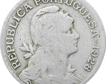 Portugal 1928 One Escudo Coin