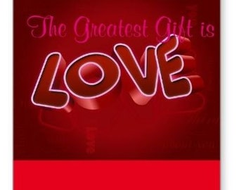 Love Day Greeting Card