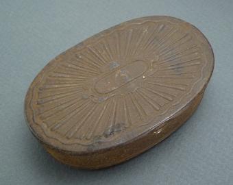 Tin snuff box c1830