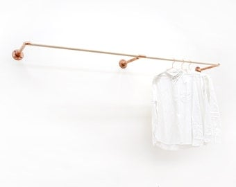 W-Rack • Wall Mount Clothing Rack