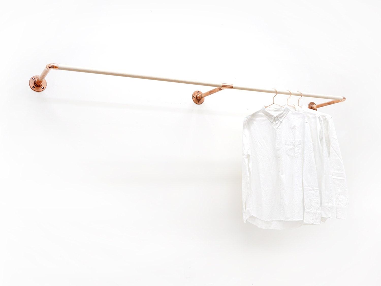 W Rack Wall Mount Clothing Rack
