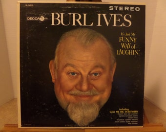 Burl Ives It's My Funny Way of Laughin' record album