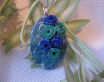 Pendant with Flowers