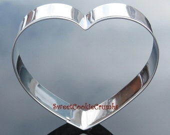 Heart Cookie Cutter- Stainless Steel - USA FREE Shipping