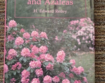Success with Rhododendrons and Azaleas by H. Edward Reiley 1992 (free shipping)
