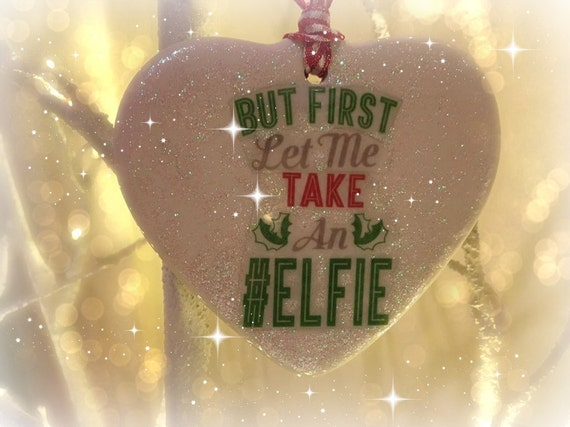 But first let me take an Elfie/ Heart Porcelain Keepsakes, Christmas gift/keepsake home decor, gifts