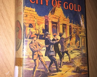 TOM SWIFT In the City of Gold Victor Appleton 1912 in DJ