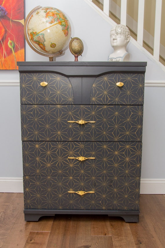 Items similar to Custom painted Hand painted furniture ...
