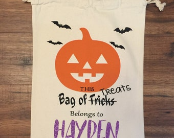 Trick or Treat bags - Pumpkin
