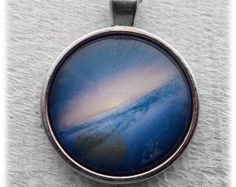 Blue Galaxy Pendant & Necklace