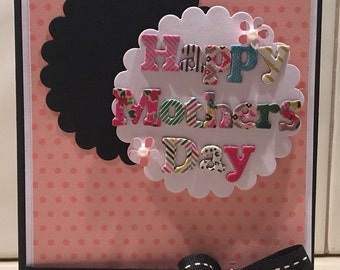 Colourful Mother's Day Card
