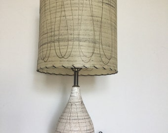 Mid Century Tabletop Lamp