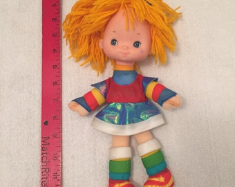 Mini Size Vintage Rainbow Bright Doll