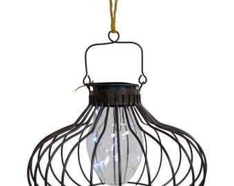 Solar Metal wired Lamtern