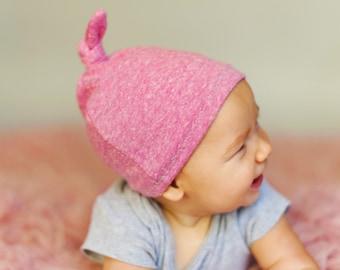 Baby knot beanie
