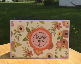 Thank you cards - 6 pack