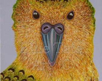 A4 Limited Edition Print - Kakapo