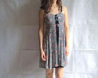 90s Vintage Baby Doll Mini Sleeveless Dress