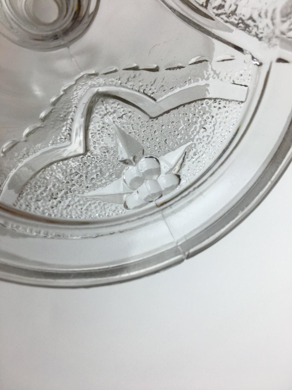Victorian Glass Compote