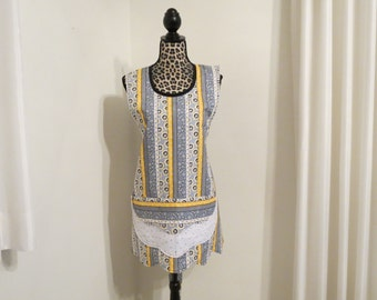 Handmade One Size Fits Most Reversible Apron