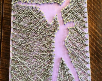 Dirty Dancing String Art