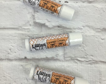 Orange Cream Lip Balm