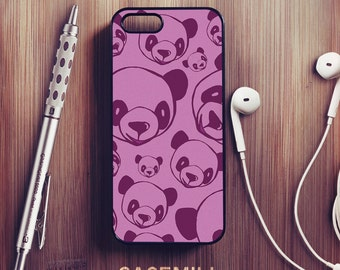Panda Pattern iPhone 6 Case iPhone 6s Case iPhone 6 Plus Case iPhone 6s Plus Case iPhone 5s Case iPhone 5 Case iPhone 5c Case