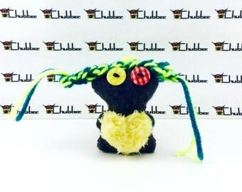 Keychain, Chubbee, Doll, Plush Stuffed Creature, Kawaii, handmade, Fula