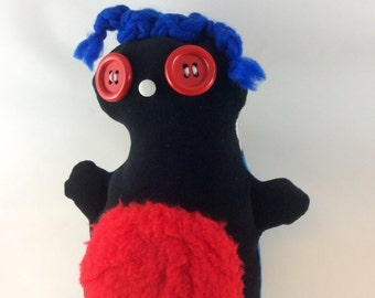 Chubbee, Plush Stuffed Creature, Handmade, Doll, Marvle