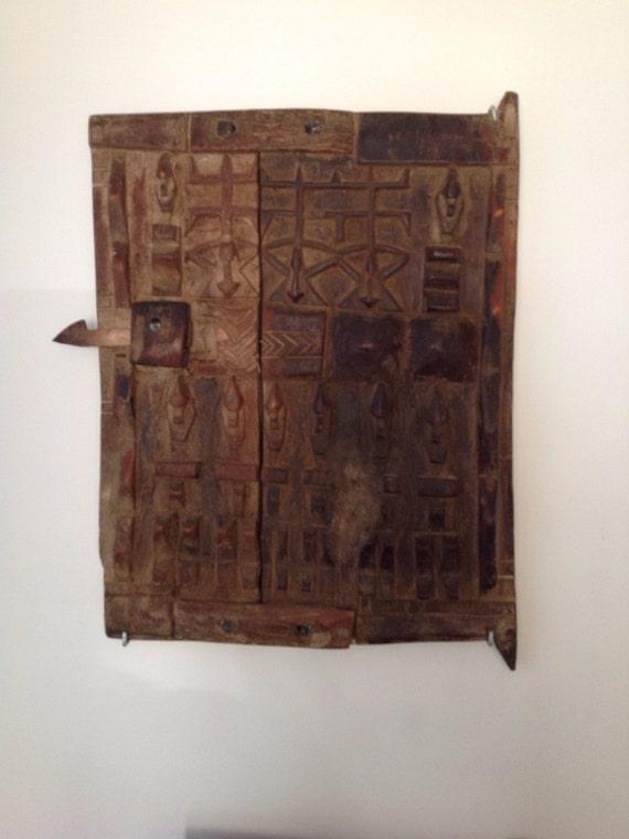Dogon African granary door