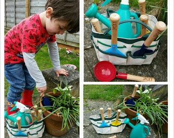 Child's personalised gardening set - 00064