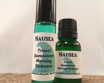 Nausea Essential Oil, Natural Morning Sickness, Vertigo, Dizzy, Seasick, Carsick, Cruise, Queasiness, Nausea from Medication Side Affects