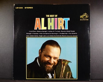 The Best Of Al Hirt 1965 Vinyl Record. Trumpet, Chorus & Orchestra / Vocal Duet with Ann Margret / Sugar Lips / Cotton Candy / Gift Quality