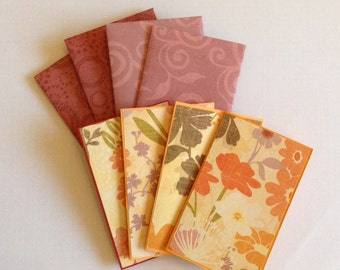 Note cards, Greeting cards, Floral cards and envelopes, flower cards, gift cards, blank cards, fall, autumn, all occasions, card set