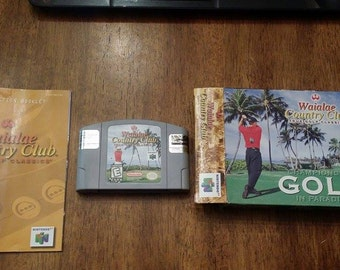 Waialae Country Club Golf N64