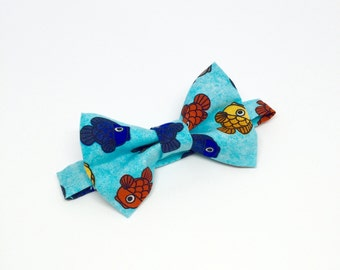 Goldfish bow etsy for Fish bow tie