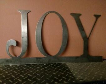Metal Joy Sign